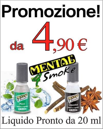 Liquidi Sigaretta Elettronica Mental Offerte e Prezzo Online